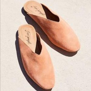 New Free People Suede Leather Callie Flats 7